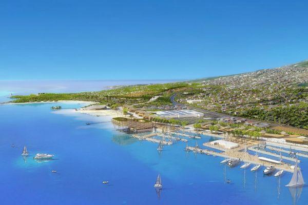 projet français Tahiti Mahana Beach…