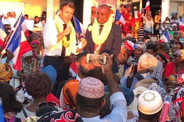 Macron à Hamjago