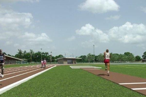 Piste d'Athlétisme du CREPS