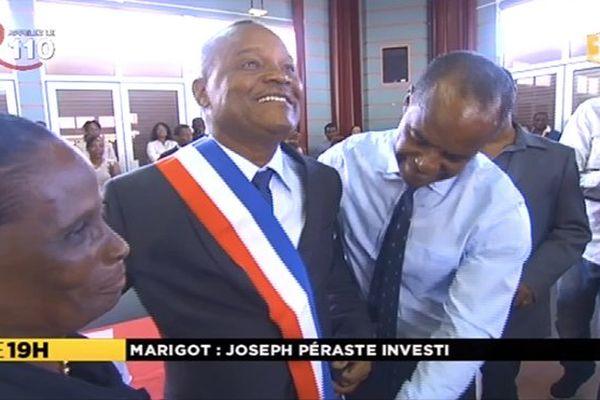 Joseph Péraste, maire Marigot