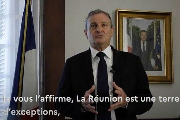 nouvel an voeux du préfet de La Réunion aux Réunionnais pour l'année 2021 010121
