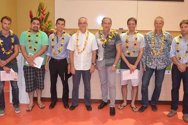 Les lauréats de la 9e édition des Doctoriales