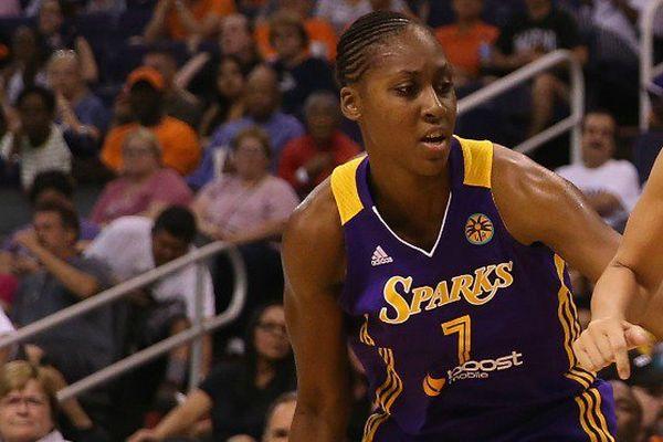 Basket : la Martiniquaise Sandrine Gruda est la première Française championne WNBA avec les Sparks