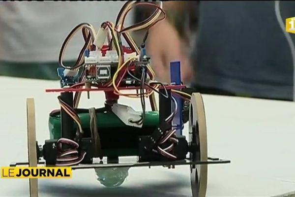 La conception de robots, illustration ludique des mathématiques appliquées