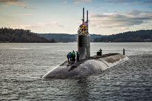Sous-marin d'attaque nucléaire américain de la classe Seawolf de l'US Navy