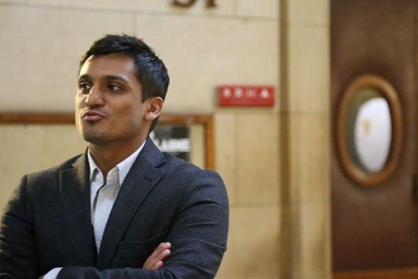 Maître Sanjay Mirabeau, l'un des avocats de Ruddy Alexis