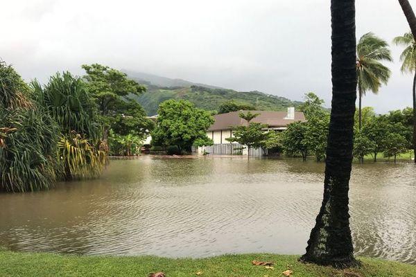 Inondations musée Tahiti et ses îles