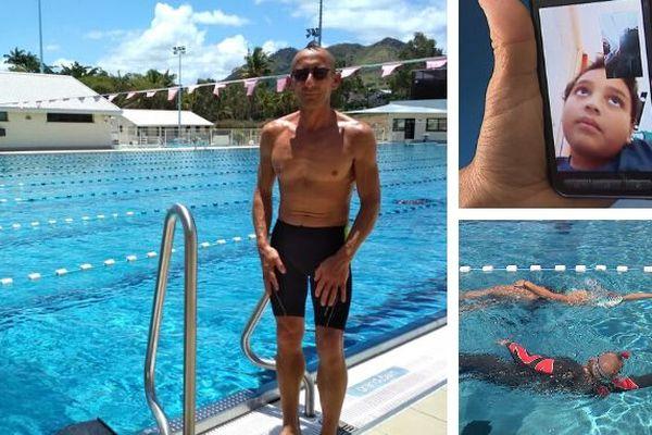 Stéphane Cancicani a nagé pour Anthony