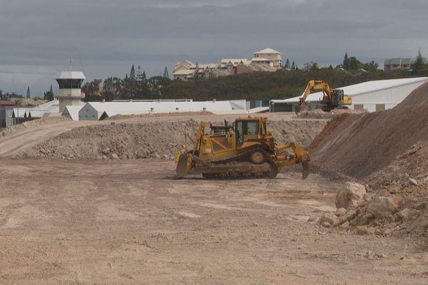 chantier déviation rue Gervolino