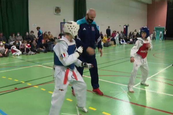taekwondo competition noel