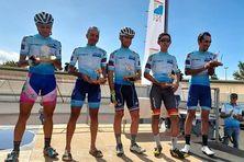 """Des cyclistes péi réussissent leur """"Grand Défi"""" avec l'ascension des plus hauts sommets de La Réunion."""