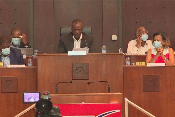 Dernière plénière mandature région