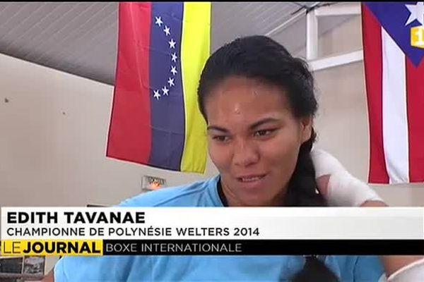 Portraits des champions de boxe polynésiens