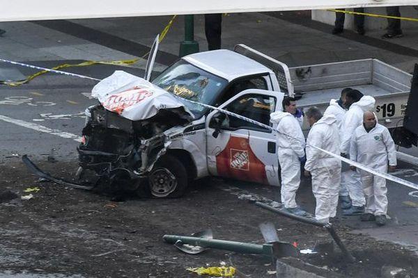 L'attaque à la camionnette fait huit morts à Manhattan