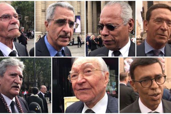 Politiques ultramarins aux obsèques de Jacques Chirac