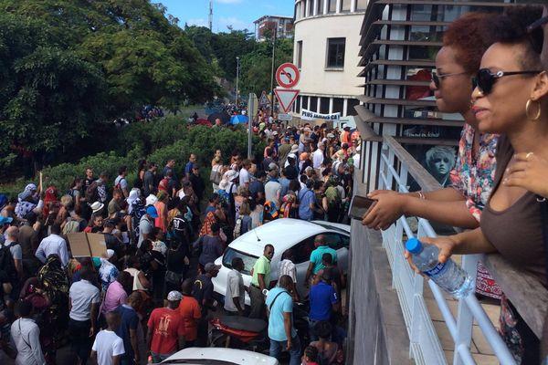 Manifestation : Mayotte Île Morte