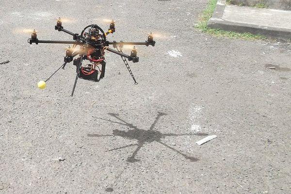 Drone utilisé par la société Iconem