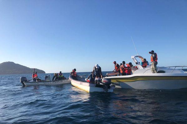 Mobilisations de pêcheurs et plongeurs pour retrouver Saandani Ali Saïd