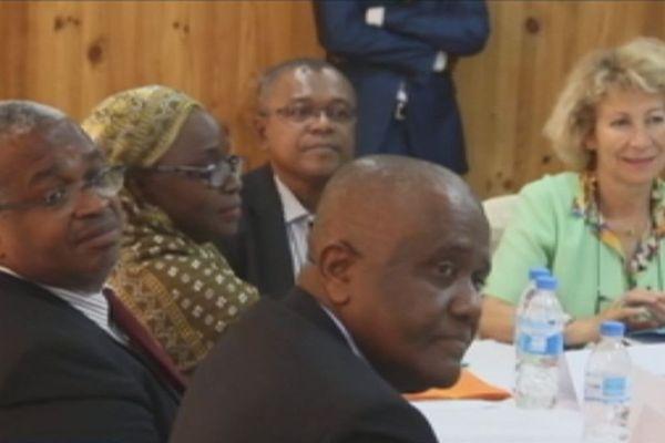 Mahorais au sixième comité mixte Comores-France, à Moroni