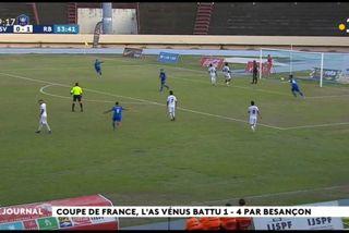 Coupe de France terminée pour l'As Venus