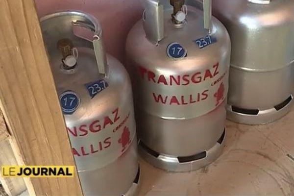 bouteilles gaz