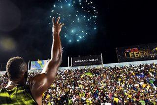Usain Bolt à Kingston