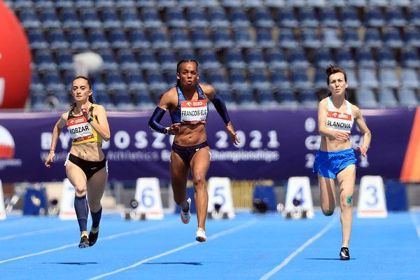Finale 100m Mandy François-Elie