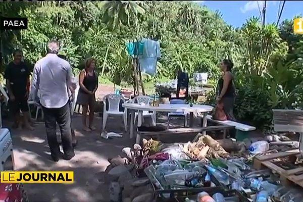 Sinistrés de Paea : le ministre du logement se rend sur place