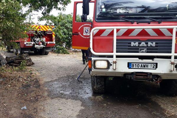 Intervention pompiers