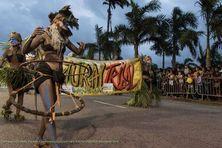 Natural Tribal à la parade de Cayenne 2017