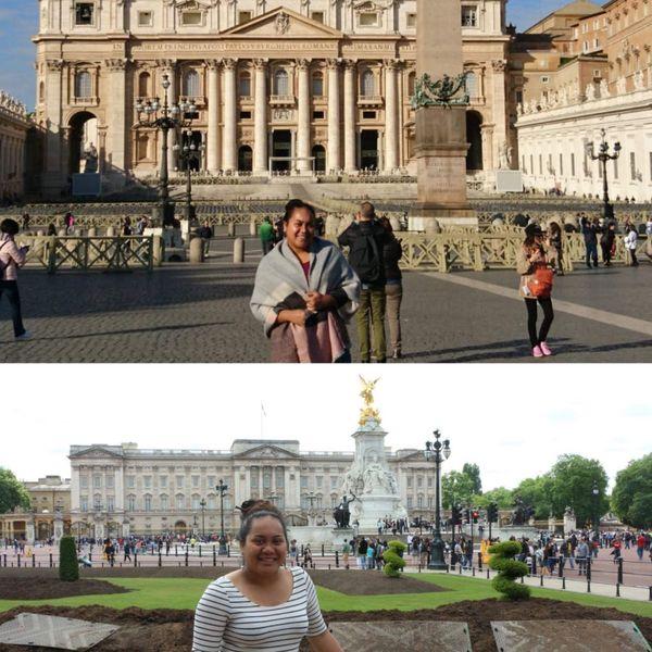 Etudiante en métropole, la Calédonienne a pu découvrir l'Europe