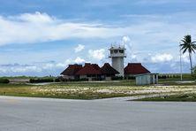 l'aérodrome de Bora Bora