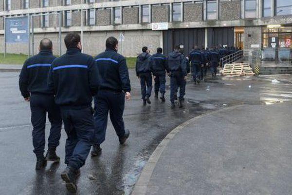 Surveillants de la prison de Fleury-Mérogis