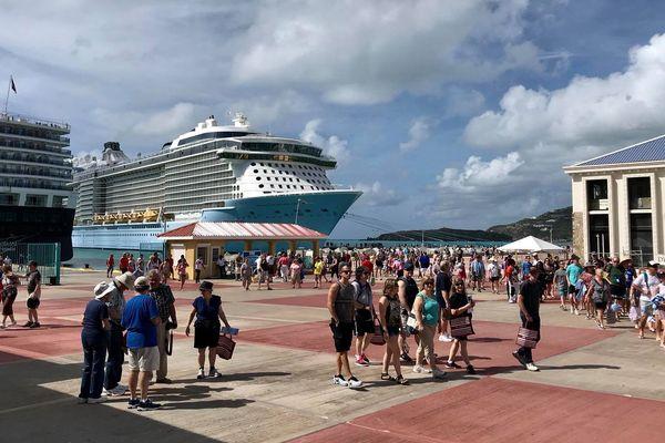 Bateaux de croisière St Maarten