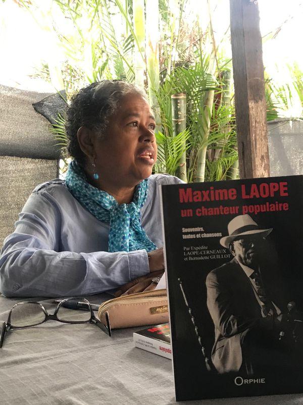 Sortie du livre sur Maxime Laope, écrit pas sa fille Expédit LAOPE-CERNEAUX pour les 15 ans de sa mort