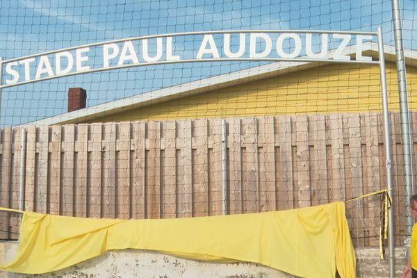 Inauguration du stade Paul Audouze