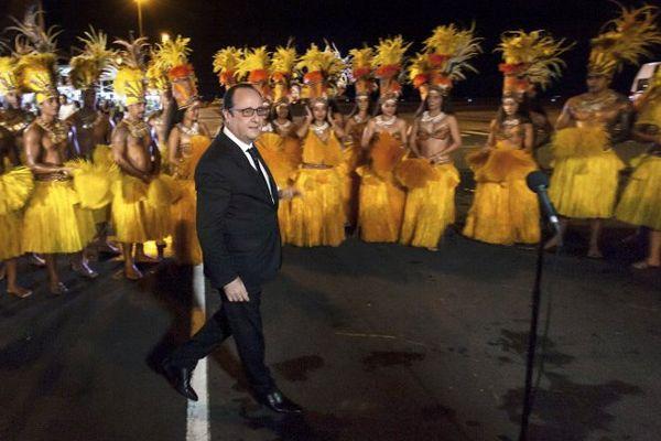 François Hollande Tahiti