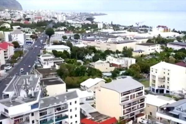 Saint-Denis vue du ciel (drone)
