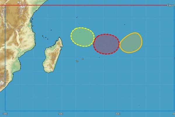 risque de formations de tempêtes tropicales dans la zone la semaine prochaine