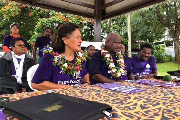 Municipales Païta en mouvement Marie-Irène Saipele