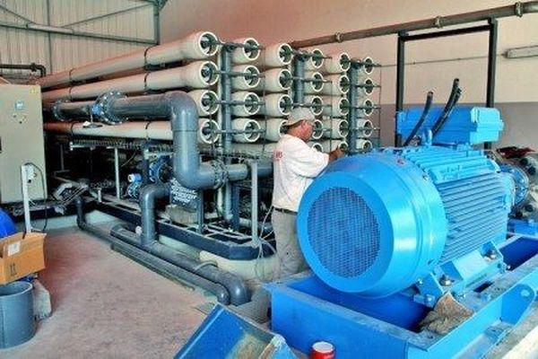 Unité de dessalement à Saint-Martin