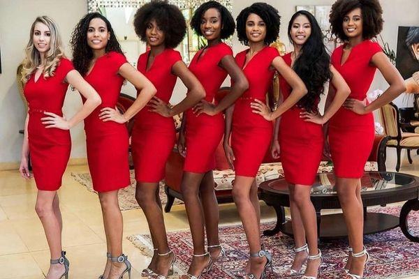 Les candidates de Miss Guyane 2020