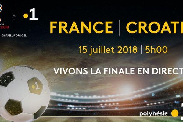 Coupe du monde 2018 : dispositif exceptionnel sur Polynésie la 1ère