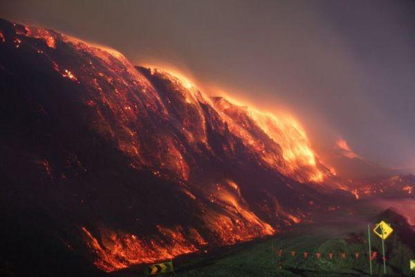 Australie. Incendie mine Hazelwood
