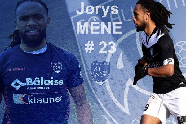 Jorys vient de signer dans un club luxembourgeois de D1 pour 3 ans