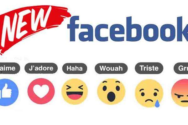 Nouveau sur facebook : on peut être triste, surpris, en colère, adorer...