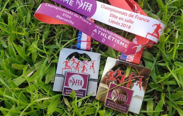 médailles de Cynthia Anaïs