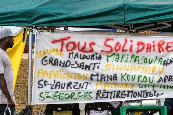 Grève Cayenne