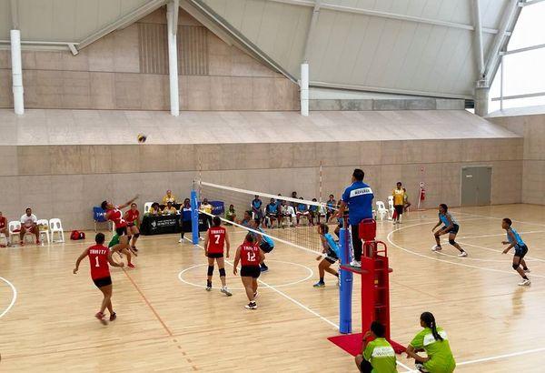 Volley ball Tahiti Fidji femmes