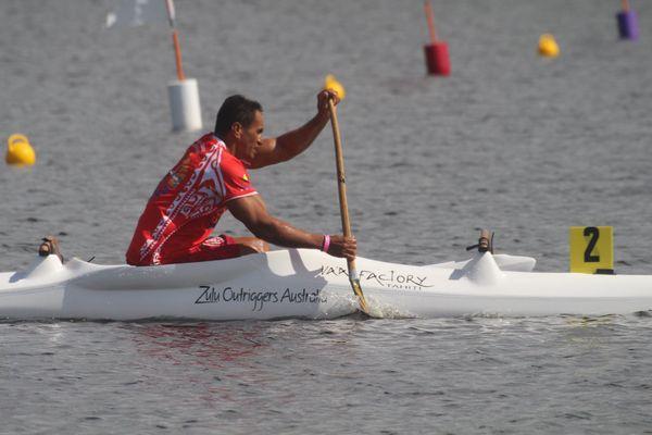 Patrick Viriamu sur 250 mètres